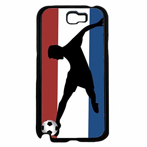 fan products of World Cup France Soccer TPU RUBBER SILICONE Phone Case Back Cover Samsung Galaxy Note II 2 N7100 includes BleuReign(TM) Cloth and Warranty Label
