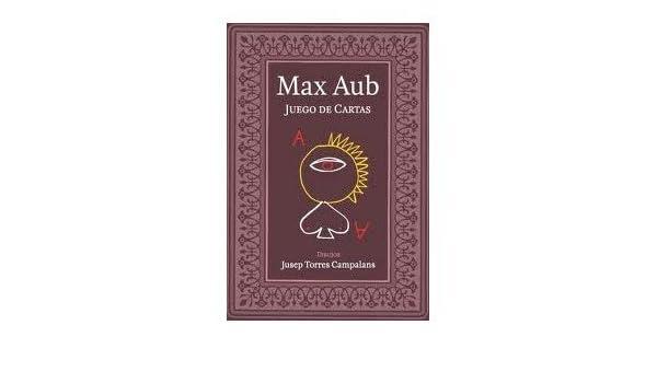 Juego De Cartas. PRECIO EN DOLARES: MAX AUB, 1 TOMO: Amazon ...