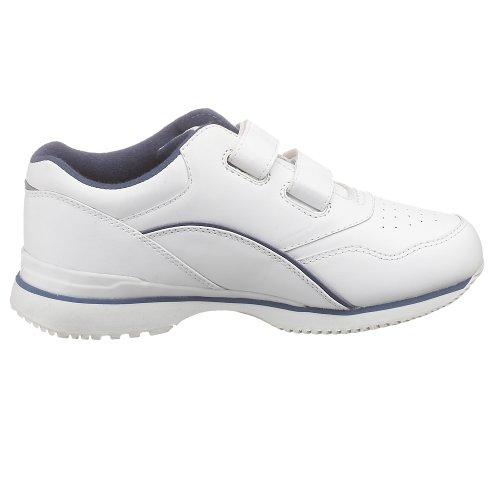 Propet Frauen Tour Walker Strap Sneaker Weiß Blau