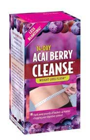 Applied Nutrition 14-Day Acai Berry Cleanse Tabs, 56 ct (Pack of 3)