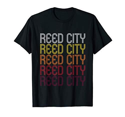 Reed City, MI | Vintage Style Michigan T-shirt