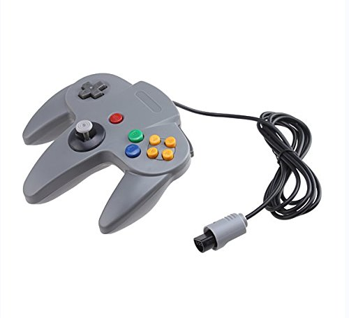 New Gray Controller Game System for Nintendo 64 N64