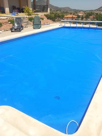 With reducer force Swimming Pool System Cover Roller Telescopic Stainless Steel And Aluminum max 4,2 m Con reductor de fuerza