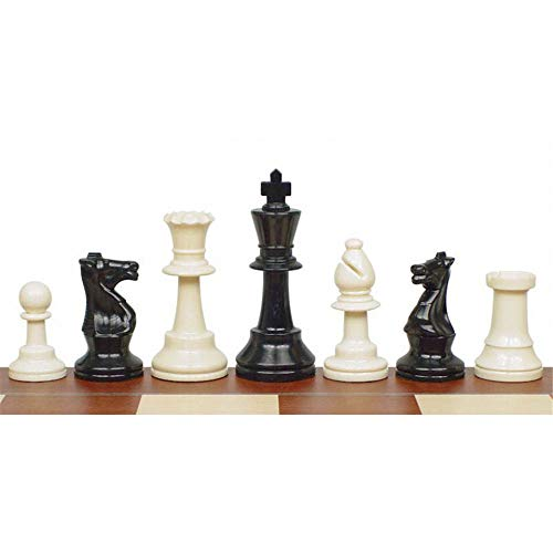 GJXQ-GSY Chess Set Plastic Chess Pieces King Height 97mm Chess Game Standard Chessmen for International Competitions