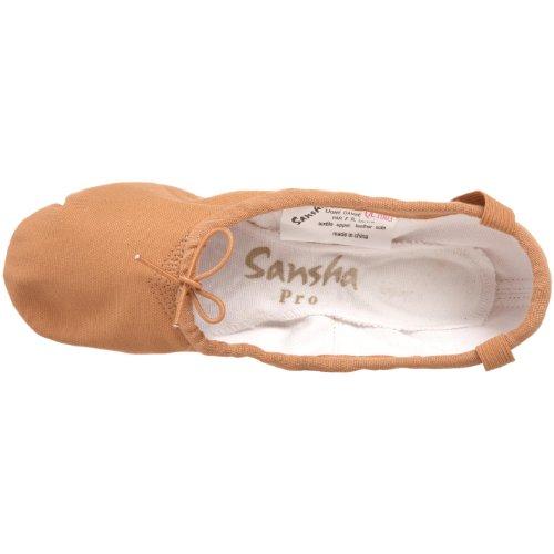 Sansha Pro 1 Canvas Ballet Slipper Vlees