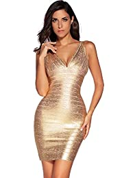 Amazon.com: Golds - Night Out & Cocktail / Dresses: Clothing ...