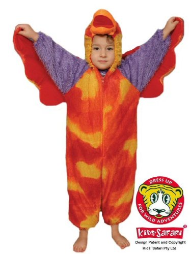 Safari Plush Costume Parrot- (Parrot Halloween Costumes Child)