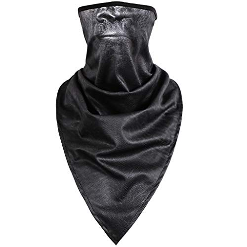 (Windproof Ski Mask -3D Print Ears Animal Balaclava Face Outdoor Motorcycle Neck Warmer Thermal Scarf (A, Free Size))