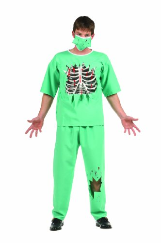 [Scary E.R. Doctor (Standard;Teen)] (Nurse Costumes For Teens)