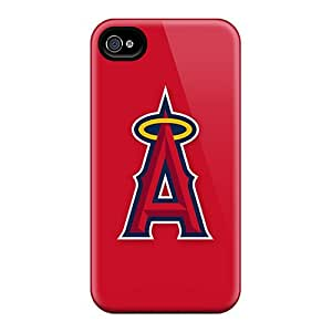 Iphone 6 FZS24155GZCy Provide Private Custom High Resolution Baseball Los Angeles Angels 2 Pictures Perfect Cell-phone Hard Cover -CassidyMunro