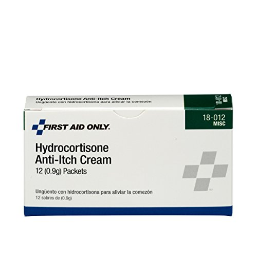 (Pac-Kit by First Aid Only 18-012 Hydrocortisone Anti-Itch Cream Packet (Box of 12))