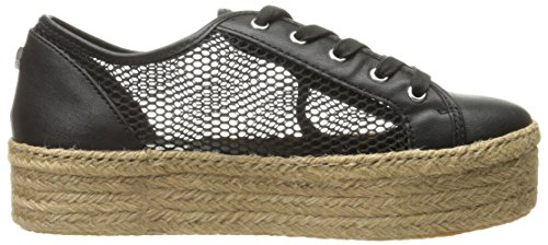 Steve Madden Womens Mars Fashion Sneaker Black