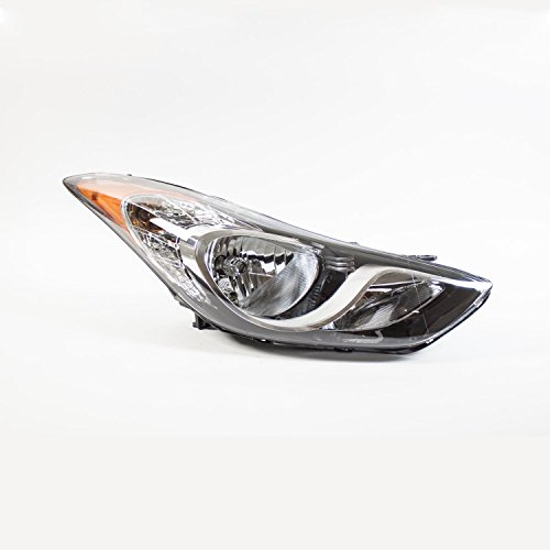 TYC 20-12551-00-1 Hyundai Elantra Right Replacement Head Lamp ()