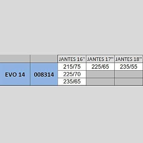 MICHELIN 008307 Easy Grip Evolution Schneekette Composite