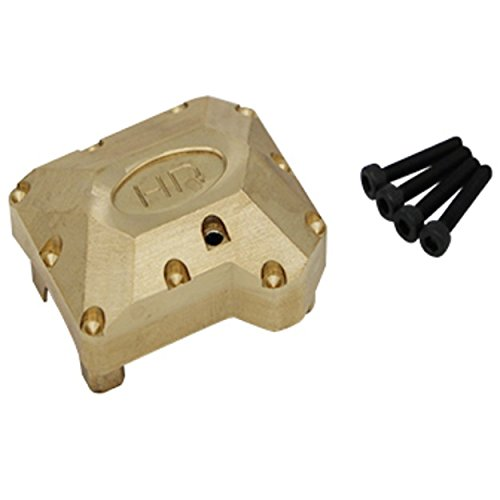 (Hot Racing TRXF12CH01 Heavy 70g Brass Differential Cover Traxxas TRX-4)