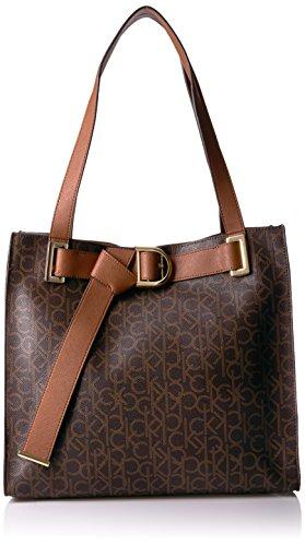Calvin Klein Nola Belted Signature - Handbag Belted Tote