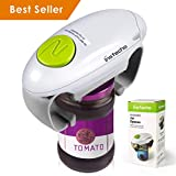 instecho Electric Jar Opener, Restaurant Automatic Jar Opener for Seniors with Arthritis, Weak Hands, Bottle Opener for Arthritic Hands (JAR OPENER-new)