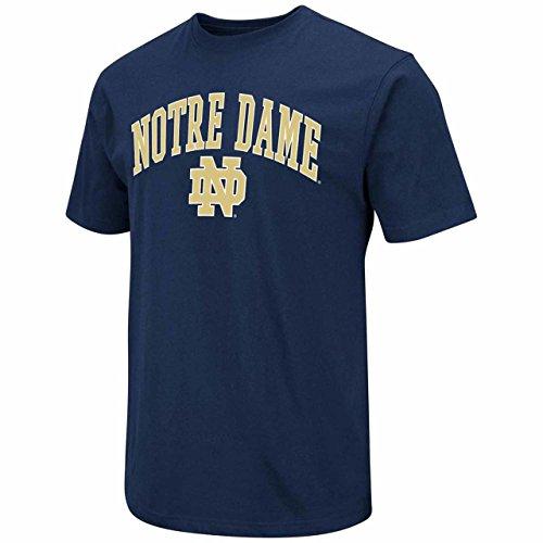 Blue 84 Notre Dame Fighting Irish Adult Arch Logo T-Shirt - Navy, Small