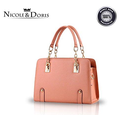 Orange Nicole Bolso amp;doris Mensajero Moda De Del Cadena Nuevas Bolsa Hombro Mujeres Monedero OOBwT7