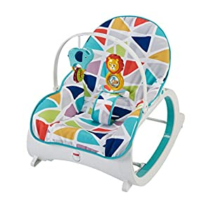 Fisher-Price Original Infant-to-Toddler Baby Rocker