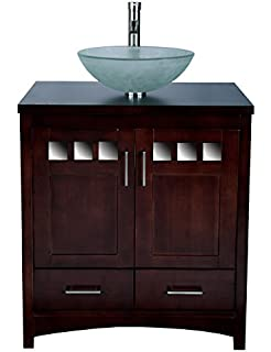 Unusual Disabled Bath Seats Uk Big Custom Bath Vanities Chicago Flat Led Bathroom Globe Light Bulbs Painting Ideas For Bathrooms Old Fitted Bathroom Companies BlueLamps For Bathroom Vanities Solid Wood 30\u0026quot; Bathroom Vanity Cabinet Glass Vessel Sink Faucet MO ..
