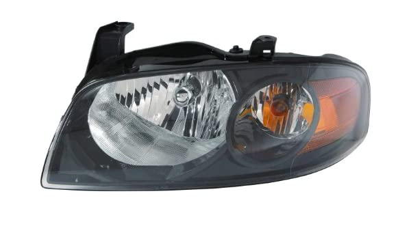 CarPartsDepot 1991-1996 JEEP CHEROKEE RIGHT HEADLAMP DOOR HEAD LIGHT PASSENGER ASSEMBLY