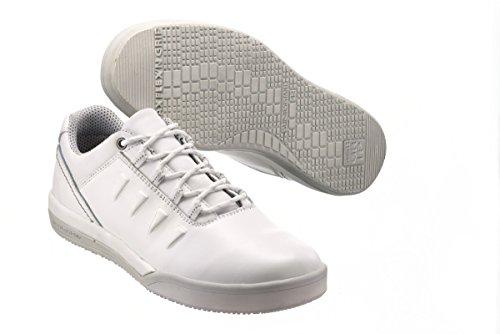Sanita San-chef Lace Shoe-s2 - Calzado de protección Unisex adulto Blanco - blanco