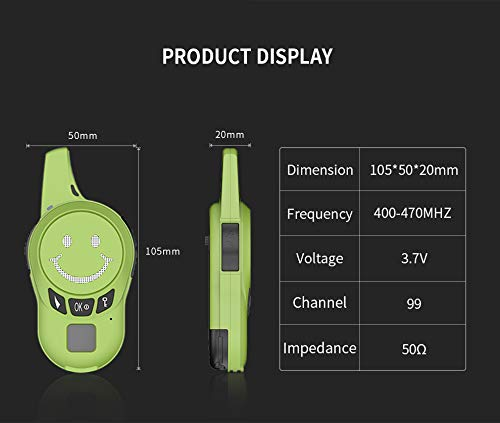 Kids Walkie Talkies,Zastone Outdoor Walkie Talkies for Kids Toys for 3-12 Year Old Boys Toys Fun Gifts for Teen Girls Boys Birthday Christmas by Zastone (Image #2)