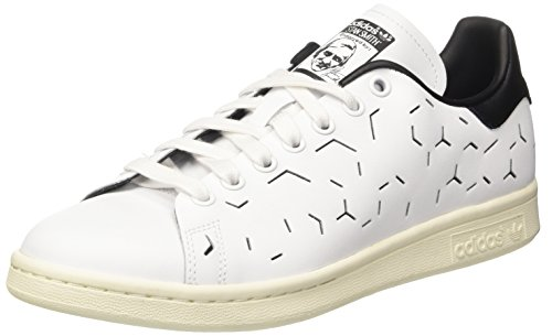 Stan Core Footwear adidas Smith White Damen Sneaker Elfenbein Footwear White Black qczH5c