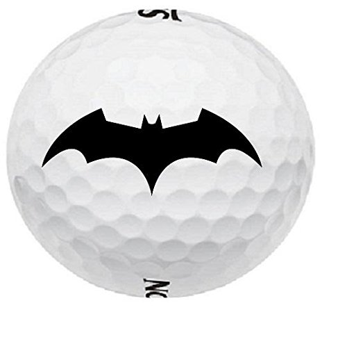 2 Dozen Batman Dark Knight Logo Srixon Assorted Mint Golf Balls