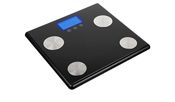 Amazon.com: KIT Black Digital Bluetooth Weighing Scales with BIA Technology - KTSCALEBK: Health & Personal Care