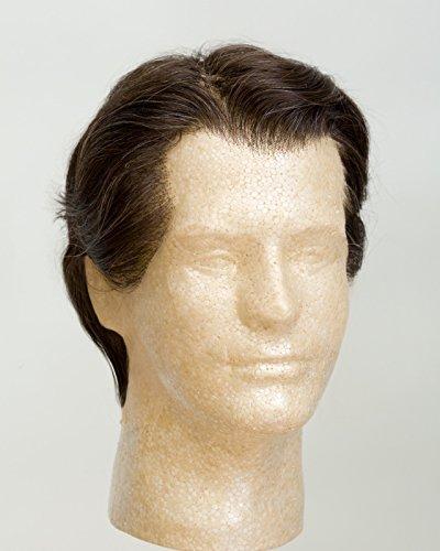 "John Blake's Wigs and Facial Hair, Inc. - 6"" Men's Toupee 8x6 (Dark Brown)"
