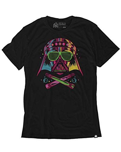 INTO THE AM Darth Raver Men's Graphic Tee Shirt -