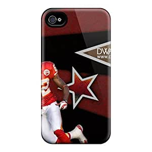 Kansas City Chiefs Case Compatible With Iphone 4/4s/ Hot Protection Case