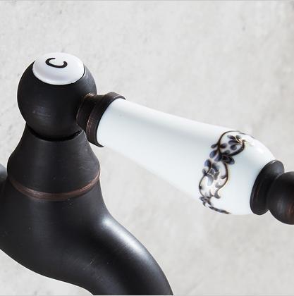 Black antique copper sink single cold tap, d by US faucet (Image #1)