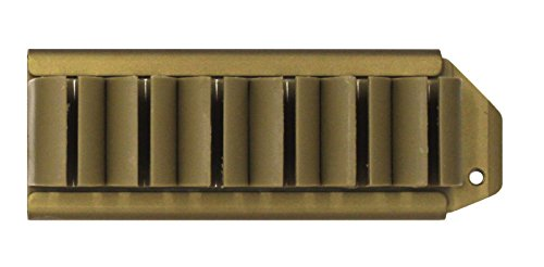 Ultimate Arms Gear Tan Pro Series Side Saddle 6 Round 12 Gauge Shotshell Shot Shell No Gunsmithing Carrier Mount For The Remington 870 Shotgun (Pro Series Saddle)