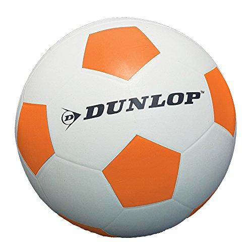 Fußball gummiert verschiedene Farben griffig Spiel Ball Größe 5 Indoor Outdoor (Orange)
