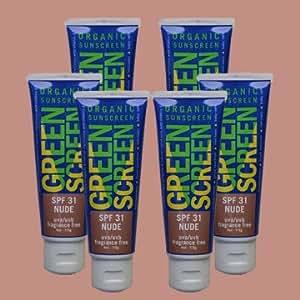 Amazon.com : Green Screen Organic Zinc Oxide Sunscreen SPF