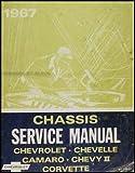 1967 Chevy Repair Shop Manual Original -- Impala, SS, Caprice, Chevelle, El Camino, Camaro, Chevy II/Nova, Corvette