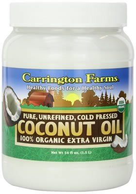 Coconut Oil, Organic Extra Virgin 54 Ounces (Case of 6)