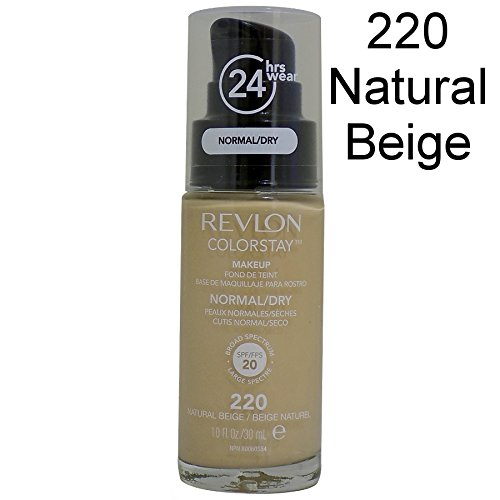 Revlon Colorstay Pump 24HR Make Up SPF20 Norm/Dry Skin 30ml - 220 Natural Beige