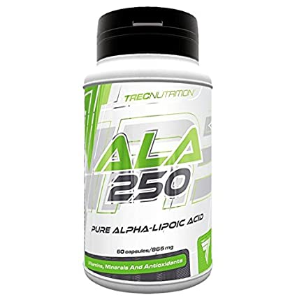 Trec Nutrition - ALA 250 Aminoácido Antioxidante - 52.2 g