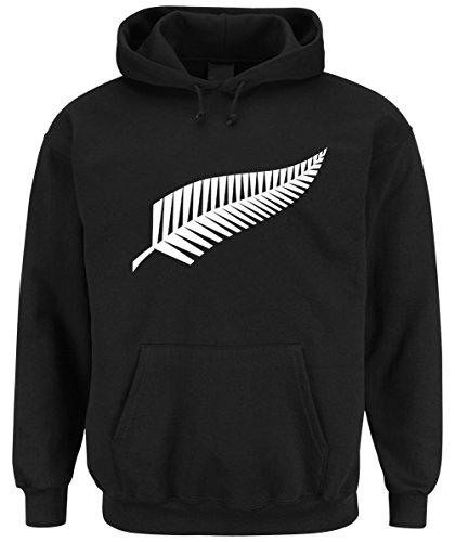 New Zealand Hooded-Sweater Black Certified Freak