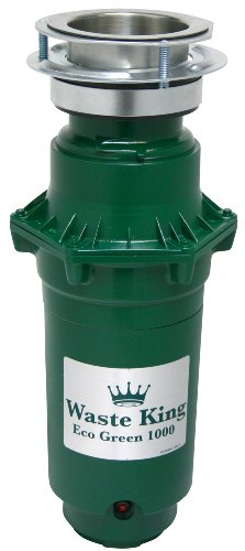 Waste King 1000 Eco Green Food Waste Disposer