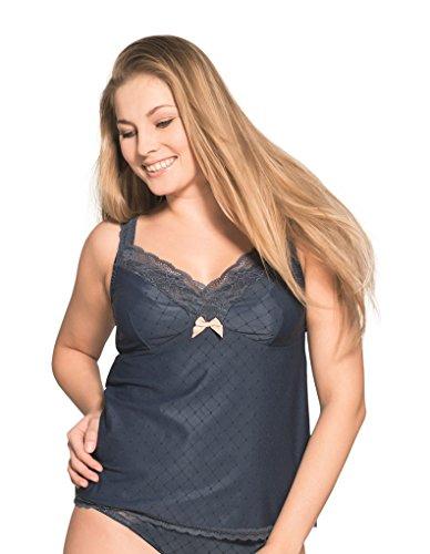 Ulla Camiseta-Sujetador de la colección *Estelle* 5060 Azul