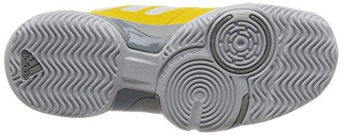 adidas Barricade Club XJ, Zapatillas de Deporte Unisex Niños Amarillo (Eqtama / Ftwbla / Gridos)