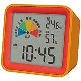 MONDO(モンド) 卓上型熱中症計 オレンジ×レッド・DH03‐OR 822749