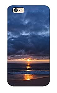 Ideal Improviselike Case Cover For Iphone 6(sunset Behind The Clouds ), Protective Stylish Case