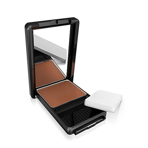 COVERGIRL Queen Natural Hue Compact Foundation Spicy Brown, .4 oz. (packaging may vary) (Cover Girl Queen Natural)