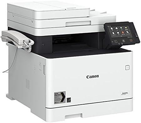 Impresora láser multifunción color Canon i-Sensys MF734Cdw blanca ...